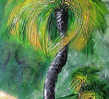 Grass Trees 2 by Ciska