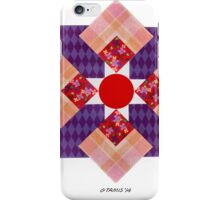 SCRAPBOOK PAPER FIGURE iPhone Case/Skin