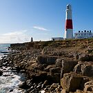 Portland Bill Lighthouse by bubblebat