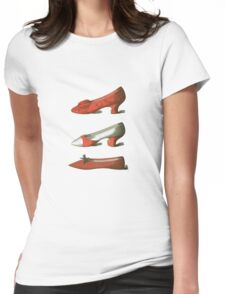 Red Shoes Womens Fitted T-Shirt