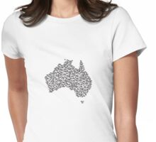 Bike Australia  Womens Fitted T-Shirt