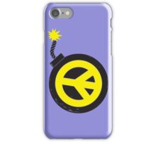 Peace Bomb iPhone Case/Skin