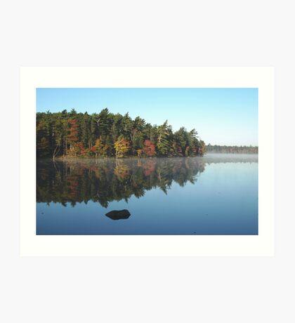 Boarsback Lake - Fall Art Print
