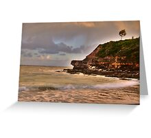 Light On The Point - Warriewood Beach - The HDR Series Greeting Card