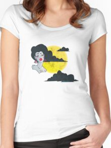 Goddess of the Sky Women's Fitted Scoop T-Shirt