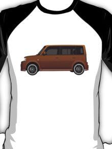 Vectored Boxcar Copper T-Shirt