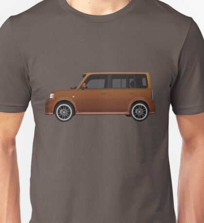 Vectored Boxcar Copper Unisex T-Shirt