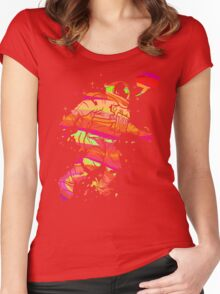 Spaced Out Women's Fitted Scoop T-Shirt