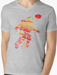Spaced Out Mens V-Neck T-Shirt