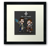 The Plumbers Framed Print