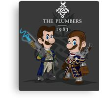 The Plumbers Canvas Print