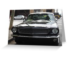 1965 Ford Mustang Fastback(Custom) 'NKR 685' 3 Greeting Card