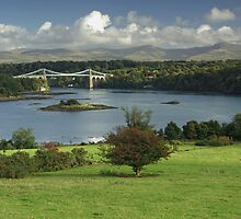 Menai Bridge, North Wales by ludek