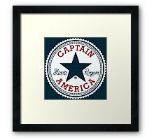 Cap. All Stars Framed Print