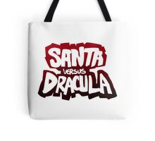 """Santa vs Dracula"" Graphic Novel logo Tote Bag"