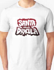 """""""Santa vs Dracula"""" Graphic Novel logo T-Shirt"""