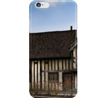 An halftimbered house iPhone Case/Skin