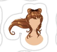 Hair in different styles 2 Sticker