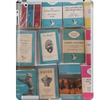 Books - blue iPad Case/Skin