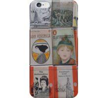 Books - orange iPhone Case/Skin