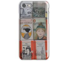 Books - orange iPhone Case/Skin