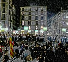 ...the sound of marching, charging feet, boy... (P1150976 _XnView _Photofiltre) by Juan Antonio Zamarripa