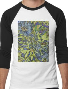 Field of Flowers Tee Men's Baseball ¾ T-Shirt