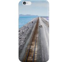A divided lake iPhone Case/Skin