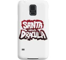 """Santa vs Dracula"" Graphic Novel logo Samsung Galaxy Case/Skin"