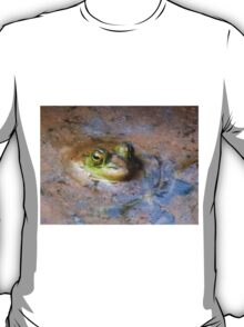 Peeking Peeper In Spring Swamp Water (not a recipe) T-Shirt