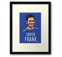 Super Frank Framed Print