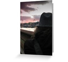 The Photographer Greeting Card
