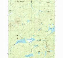 Maine USGS Historical Map Green Mountain 105173 1986 24000 by wetdryvac