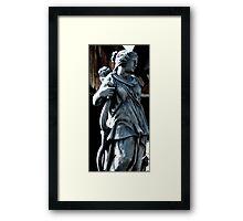 Stone Archer Framed Print
