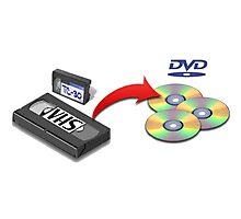 VHS -> DVD Photographic Print