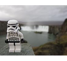 Dave Stormtrooper  Iceland Waterfall Photographic Print