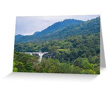 Athirappilly water falls Greeting Card