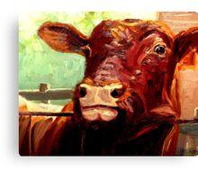 NOSY PARKER Canvas Print