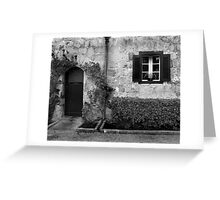 Door and window Greeting Card