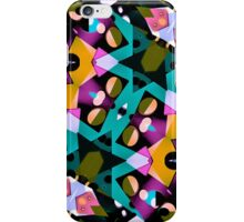 Digital Futuristic Geometric Pattern iPhone Case/Skin