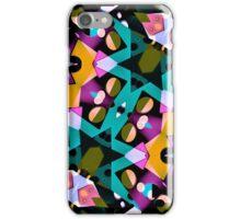 Digital Futuristic Geometric Pattern iPhone Case/Skin