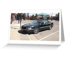 Cadillac Eldorado Touring Coupe Greeting Card