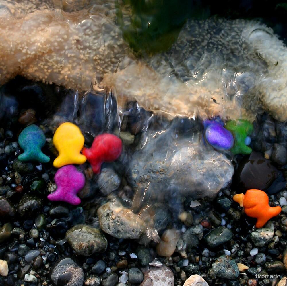 Rainbow Fish 2 by Marie Arneklev