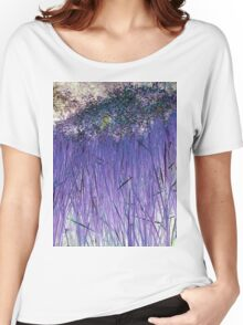 Purple Reeds 2-Available As Art Prints-Mugs,Cases,Duvets,T Shirts,Stickers,etc Women's Relaxed Fit T-Shirt