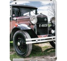 Classic Cars Ford - HDR iPad Case/Skin