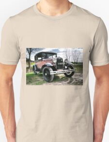 Classic Cars Ford - HDR Unisex T-Shirt