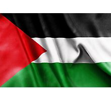 Palestine Flag Photographic Print