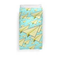 Paper Airplane 10 Duvet Cover