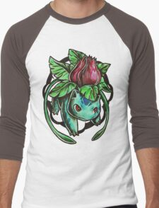 Ivysaur Men's Baseball ¾ T-Shirt