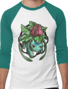 Ivysaur Men's Baseball ¾ T-Shirt
